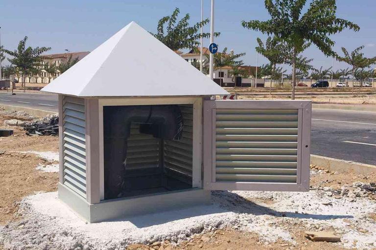 Casetas de ventilación PRFV